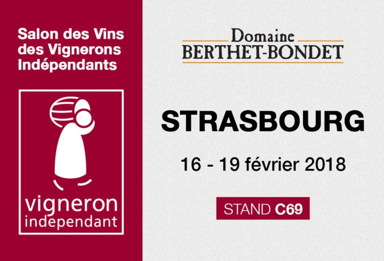 Salon des vignerons indépendants - Strasbourg 2018