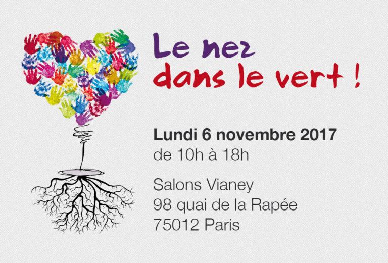 Le nez dans le vert ! Novembre 2017 - Paris