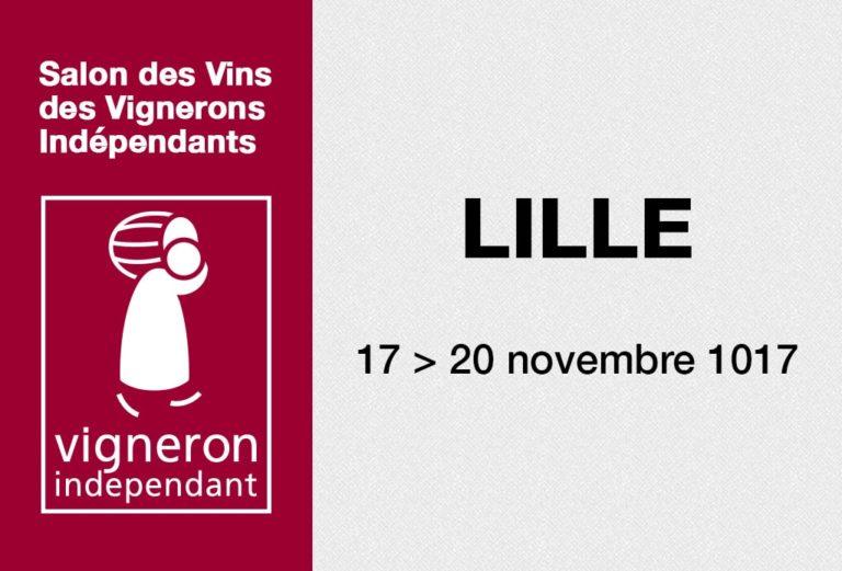 Salon des vignerons indépendants - Lille 2017