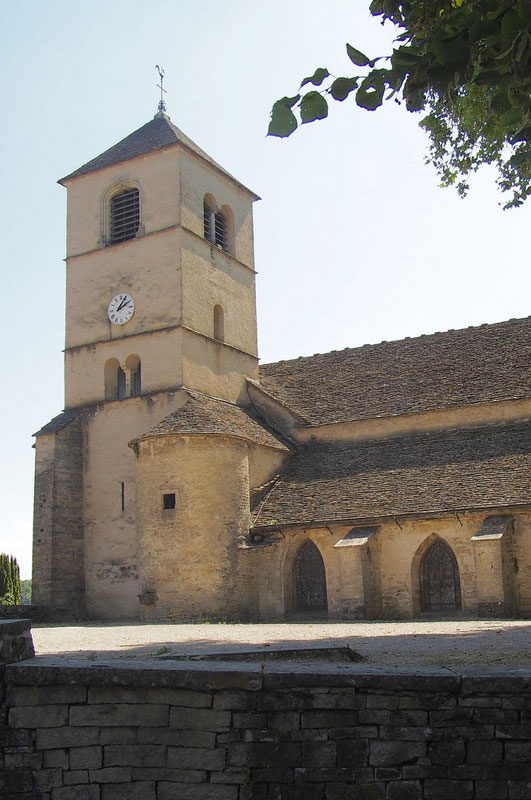 Église Saint-Pierre de Château-Chalon