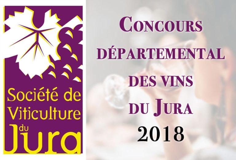 Concours départemental des vins du Jura 2018