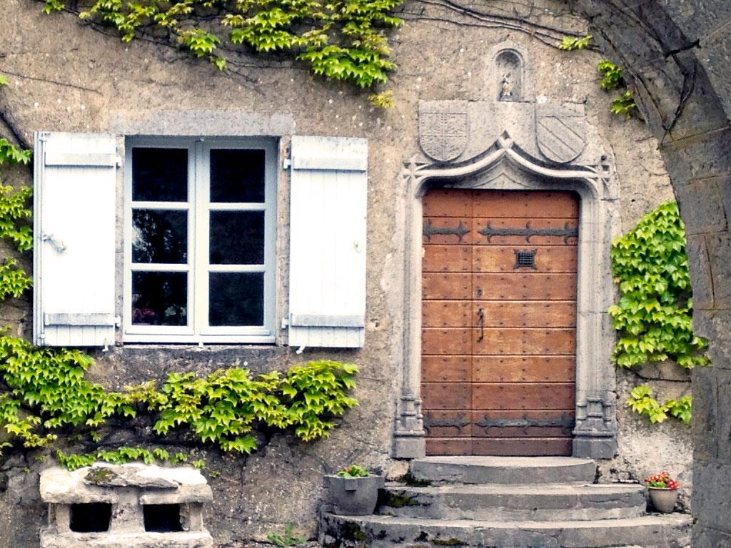 Porte d'entrée maison Berthet-Bondet