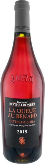 Berthet-Bondet Côtes du Jura Queue au Renard 2018