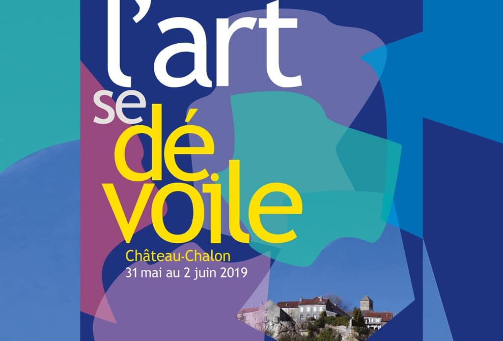 L'art se dévoile - Château-Chalon - 2019