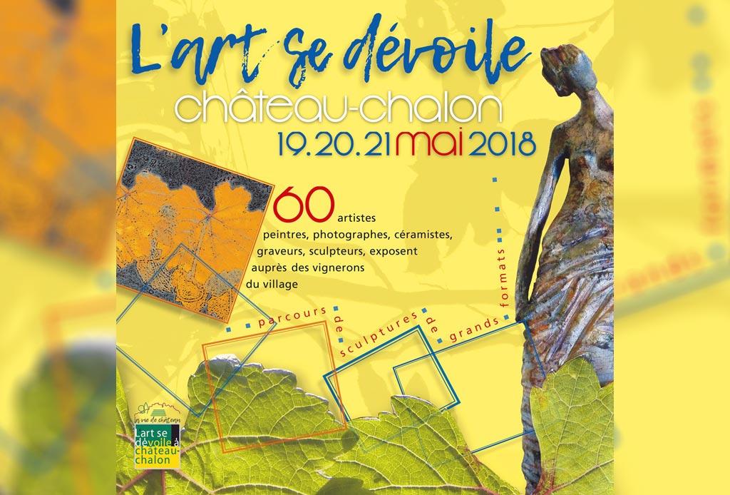 L'art se dévoile - Château-Chalon - 2018