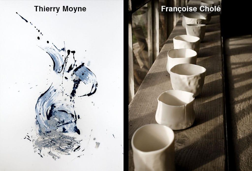 L'art se dévoile - Thierry Moyne - Françoise Cholé