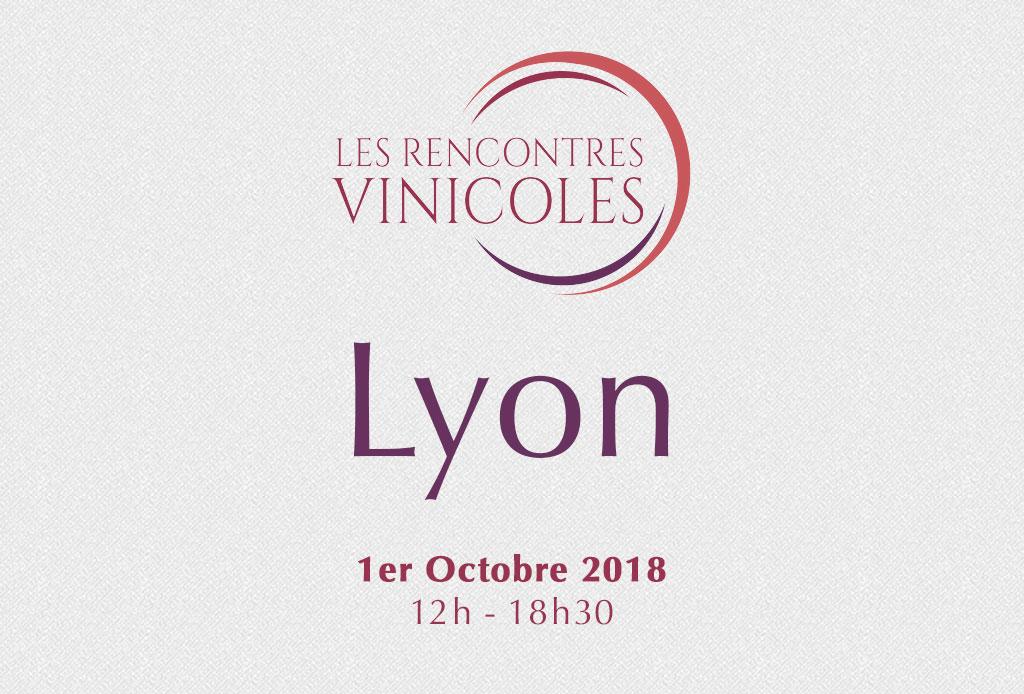 Les rencontres vinicoles - Lyon - 2018