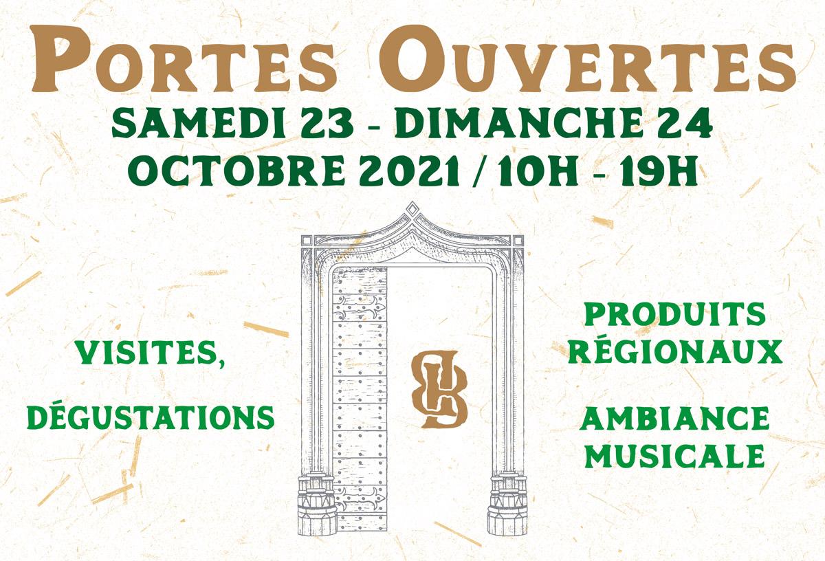Portes ouvertes 2021 Domaine Berthet-Bondet